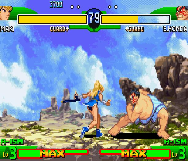 Street Fighter Alpha 3 SFA3 Zero Upper Capcom Nintendo Game Boy Advance GBA Xtreme Retro 25