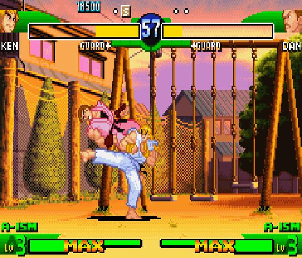 Street Fighter Alpha 3 SFA3 Zero Upper Capcom Nintendo Game Boy Advance GBA Xtreme Retro 4