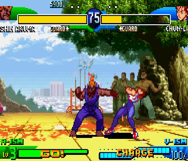 Street Fighter Alpha 3 SFA3 Zero Upper Capcom Nintendo Game Boy Advance GBA Xtreme Retro 5