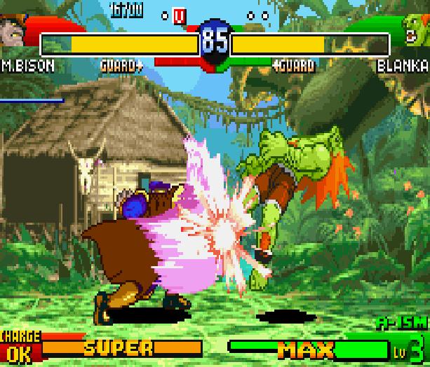 Street Fighter Alpha 3 SFA3 Zero Upper Capcom Nintendo Game Boy Advance GBA Xtreme Retro 6