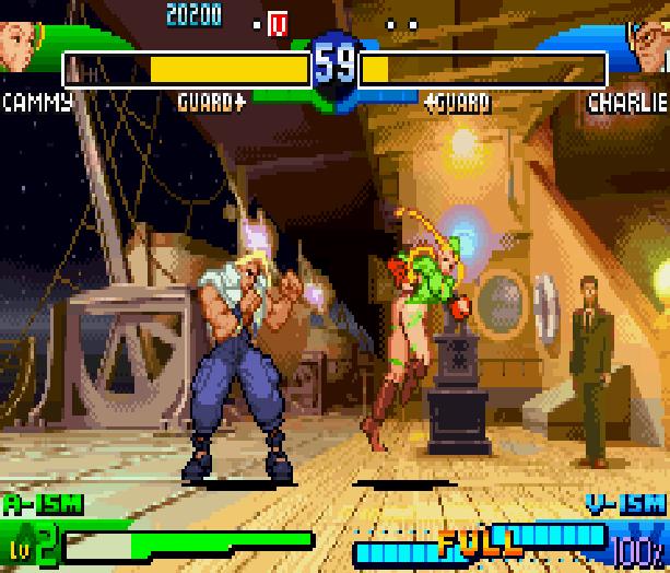 Street Fighter Alpha 3 SFA3 Zero Upper Capcom Nintendo Game Boy Advance GBA Xtreme Retro 7