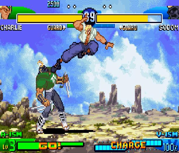 Street Fighter Alpha 3 SFA3 Zero Upper Capcom Nintendo Game Boy Advance GBA Xtreme Retro 8