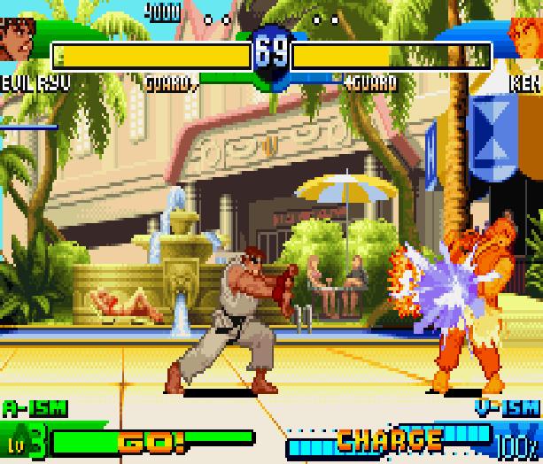 Street Fighter Alpha 3 SFA3 Zero Upper Capcom Nintendo Game Boy Advance GBA Xtreme Retro 9