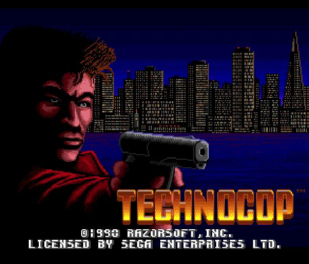 Technocop Sega Genesis Mega Drive MD Xtreme Retro 1