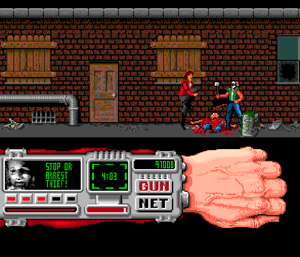 Technocop Sega Genesis Mega Drive MD Xtreme Retro 12