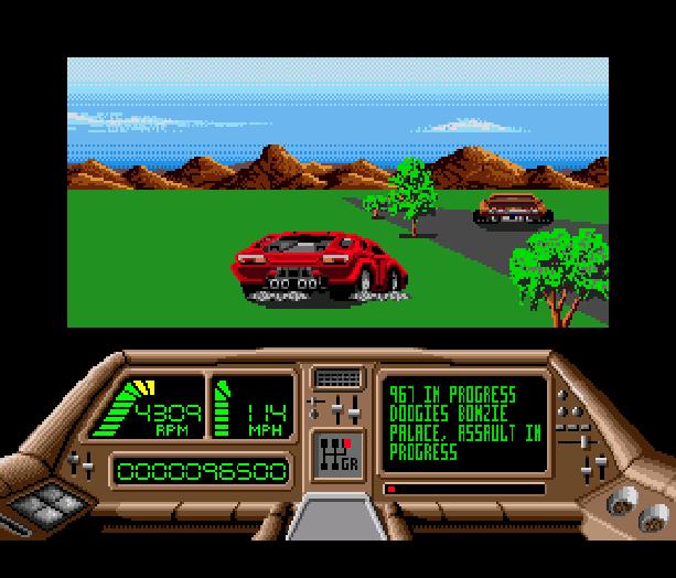 Technocop Sega Genesis Mega Drive MD Xtreme Retro 4
