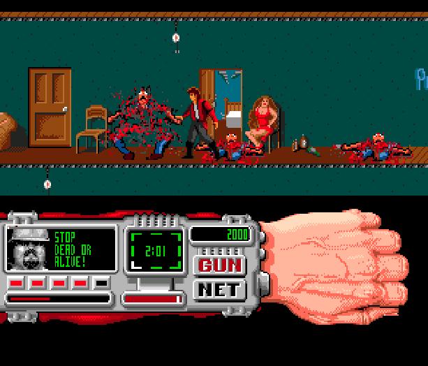 Technocop Sega Genesis Mega Drive MD Xtreme Retro 5