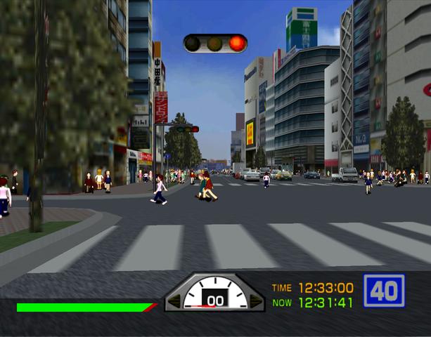 Tokyo Bus Guide Arcade Simulator Sega Dreamcast Sony PlayStation 2 DC PS2 Xtreme Retro 19