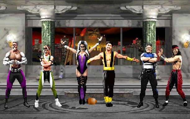 Ultimate Mortal Kombat 3 Midway Arcade Nintendo DS NDS Pixel Art Xtreme Retro