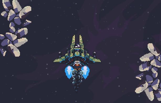 Uridium Remake Xtreme Retro Pixel Art