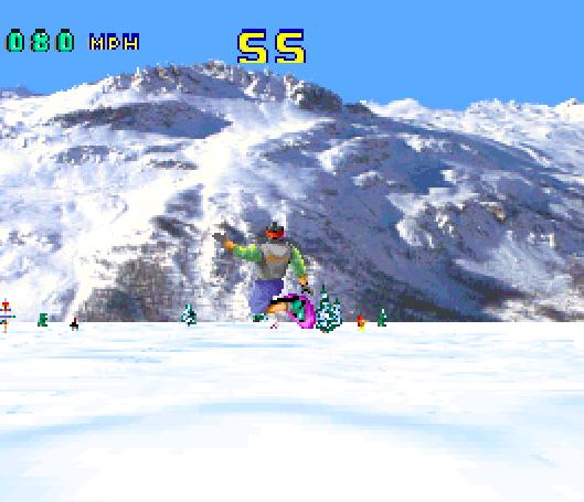 Val Disire Skiing Snowboarding Atari Jaguar Xtreme Retro 1