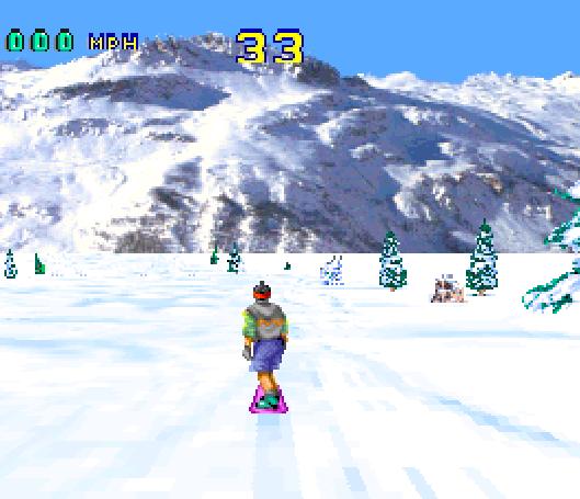 Val Disire Skiing Snowboarding Atari Jaguar Xtreme Retro 2