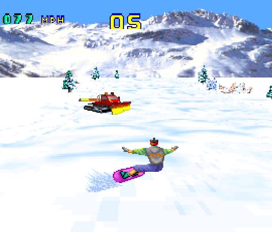 Val Disire Skiing Snowboarding Atari Jaguar Xtreme Retro 3