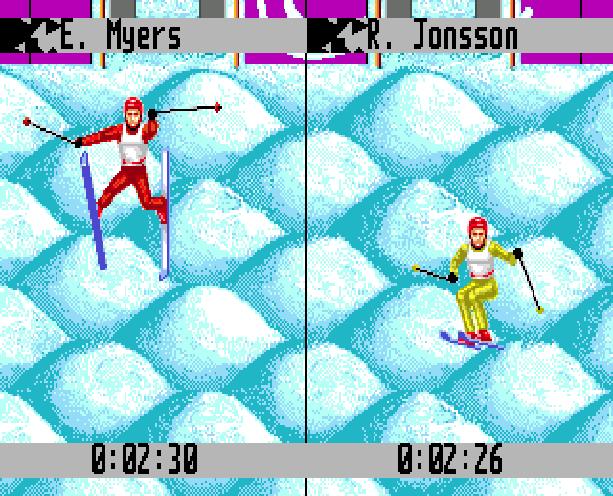 Winter Olympic Games Lillehammer 94 Sega Genesis Mega Drive Xtreme Retro 2