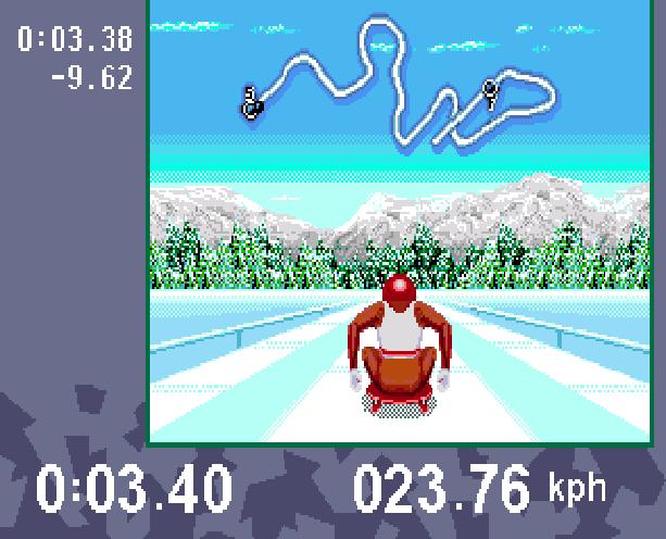 Winter Olympic Games Lillehammer 94 Sega Genesis Mega Drive Xtreme Retro 3