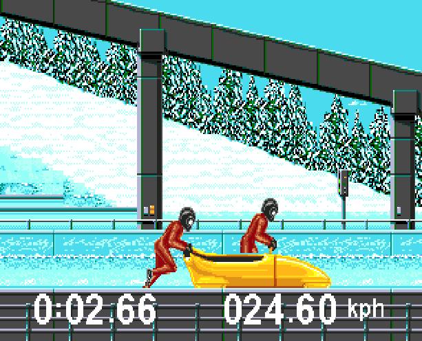 Winter Olympic Games Lillehammer 94 Sega Genesis Mega Drive Xtreme Retro 5