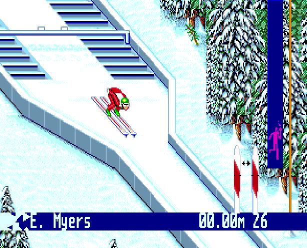 Winter Olympic Games Lillehammer 94 Sega Genesis Mega Drive Xtreme Retro 6