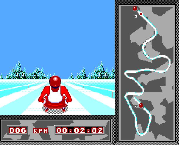Winter Olympic Games Lillehammer 94 Sega Master System Xtreme Retro 1