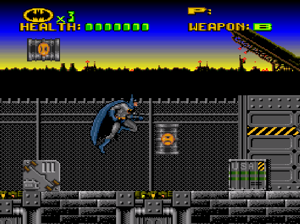 Batman Revenge of the Joker ICOM Simulations Sunsoft Super Nintendo SNES Sega Genesis Mega Drive MD Xtreme Retro 12
