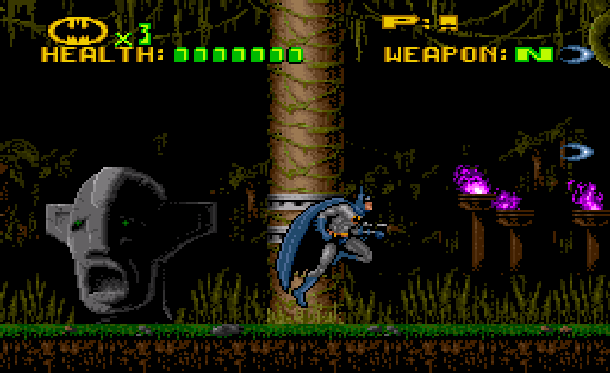 Batman Revenge of the Joker ICOM Simulations Sunsoft Super Nintendo SNES Sega Genesis Mega Drive MD Xtreme Retro 14