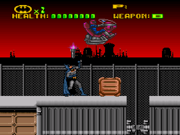 Batman Revenge of the Joker ICOM Simulations Sunsoft Super Nintendo SNES Sega Genesis Mega Drive MD Xtreme Retro 8