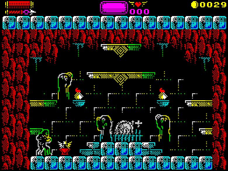 Castlevania Konami ZX Spectrum Remake Sanchez Darkman 007 Xtreme Retro 2