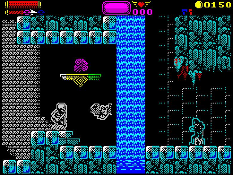 Castlevania Konami ZX Spectrum Remake Sanchez Darkman 007 Xtreme Retro 6