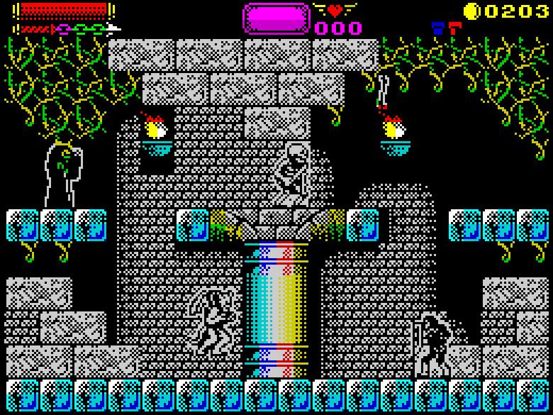 Castlevania Konami ZX Spectrum Remake Sanchez Darkman 007 Xtreme Retro 7