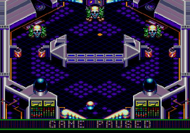 Crue Ball Heavy Metal Pinball Electronic Arts Sega Genesis Mega Drive MD Xtreme Retro 5