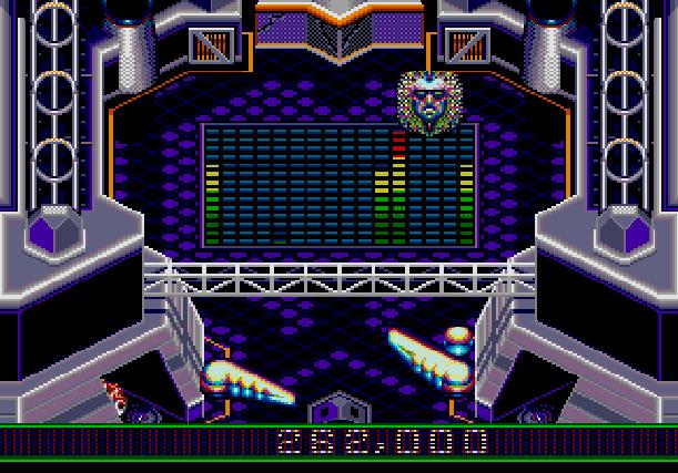Crue Ball Heavy Metal Pinball Electronic Arts Sega Genesis Mega Drive MD Xtreme Retro 6