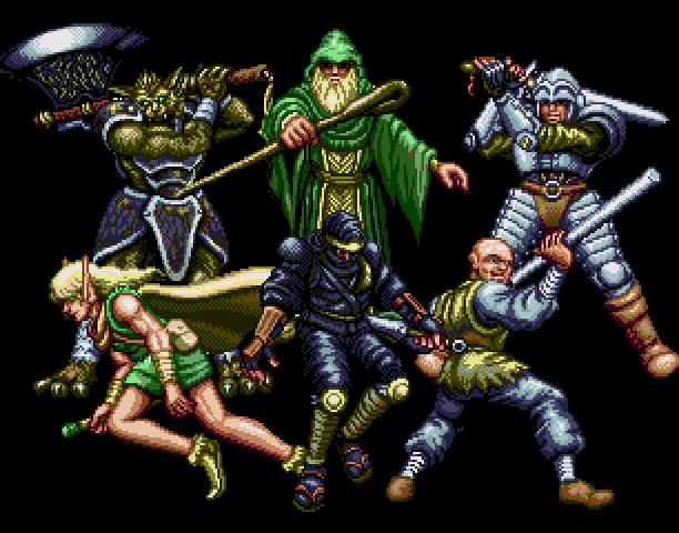 Dungeon Explorer Hudson Soft Westone Sega Action RPG Mega CD Dungeon Crawler Fantasy Sword and Sorcery Xtreme Retro 3