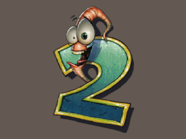 Earthworm Jim 2 Shiny Entertainment David Perry Sega Genesis Mega Drive MD Super Nintendo SNES PC MS-DOS Saturn Sony PlayStation PSX PSone Game Boy Advance GBA Xtreme Retro 1
