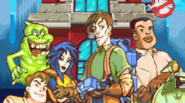 Extreme Ghostbusters Code Ecto-1 LSP Light and Shadow Production Nintendo Game Boy Advance GBA Xtreme Retro Pixel Art