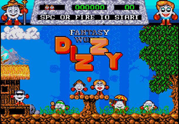 Fantasy World Dizzy Codemasters Amiga Xtreme Retro 1