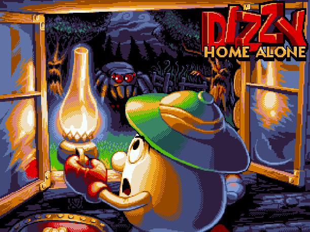 Fantasy World Dizzy Codemasters Amiga ZX Spectrum Amstrad CPC Commodore 16 64 C64 Atari ST PC DOS Enterprise 64 128 Xtreme Retro Pixel Art