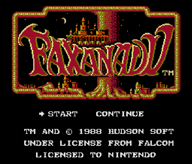 Faxandu Fudson Soft Nintendo Entertainment System NES Action RPG Xtreme Retro 1