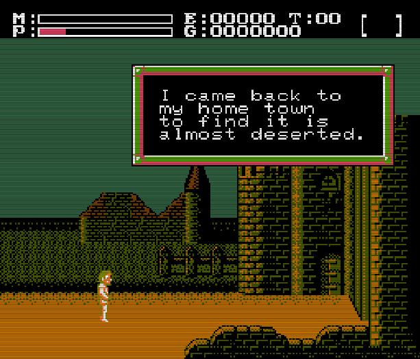 Faxandu Fudson Soft Nintendo Entertainment System NES Action RPG Xtreme Retro 3
