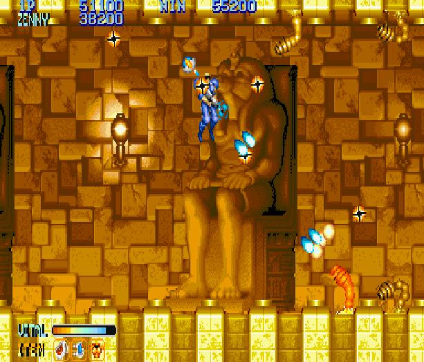 Forgotten Worlds Capcom Arcade CP System Sega Genesis Mega Drive MD Commodore 64 Amiga ZX Spectrum Amstrad CPC Master System Turbografx 16 Xtreme Retro 12