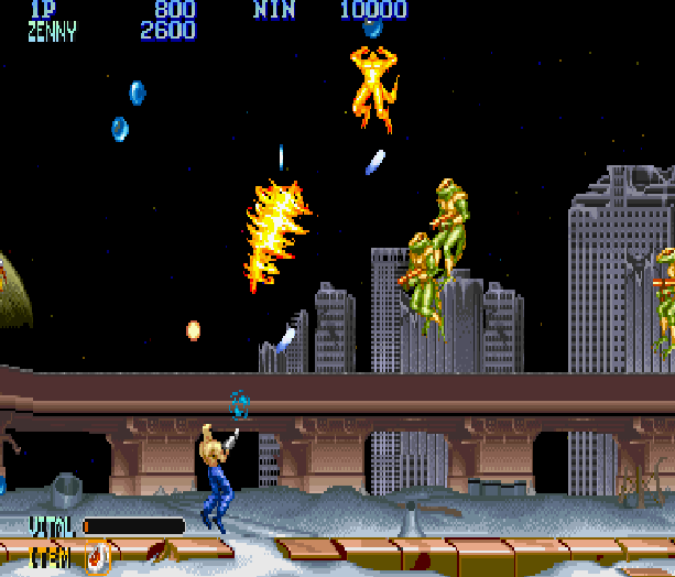 Forgotten Worlds Capcom Arcade CP System Sega Genesis Mega Drive MD Commodore 64 Amiga ZX Spectrum Amstrad CPC Master System Turbografx 16 Xtreme Retro 2