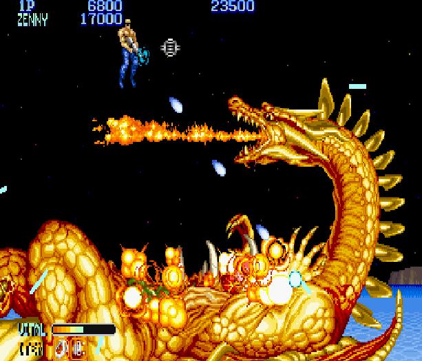 Forgotten Worlds Capcom Arcade CP System Sega Genesis Mega Drive MD Commodore 64 Amiga ZX Spectrum Amstrad CPC Master System Turbografx 16 Xtreme Retro 6