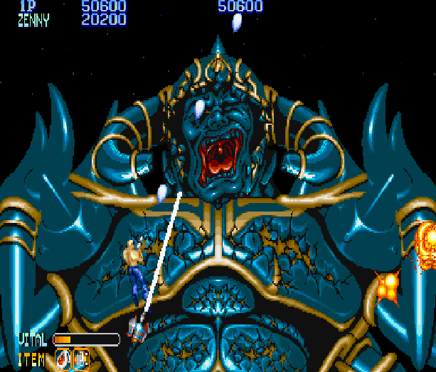 Forgotten Worlds Capcom Arcade CP System Sega Genesis Mega Drive MD Commodore 64 Amiga ZX Spectrum Amstrad CPC Master System Turbografx 16 Xtreme Retro 9
