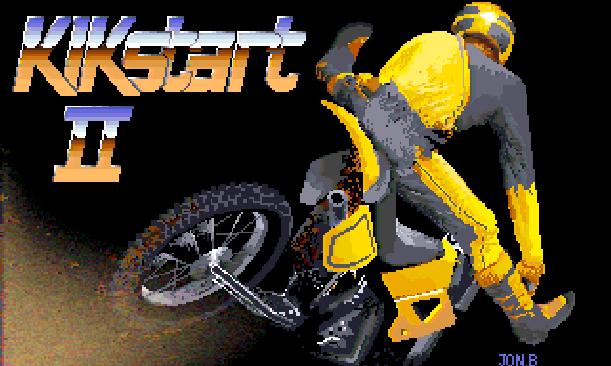 Kikstart II Mastertronic 1987 Amiga Amstrad CPC ZX Spectrum Commodore 64 C64 128 Xtreme Retro 1