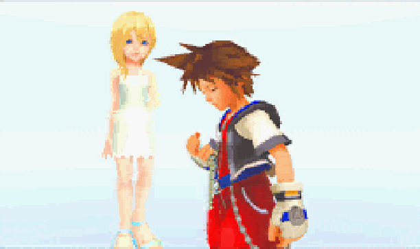 Kingdom Hearts 2 Square Enix Pixel Art PlayStation 2 PS2 Xtreme Retro 3