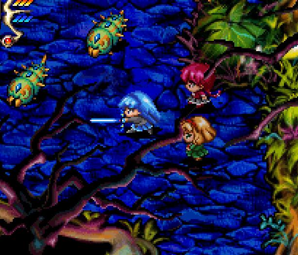 Magic Knight Rayearth Sega Saturn Action RPG Xtreme Retro 11