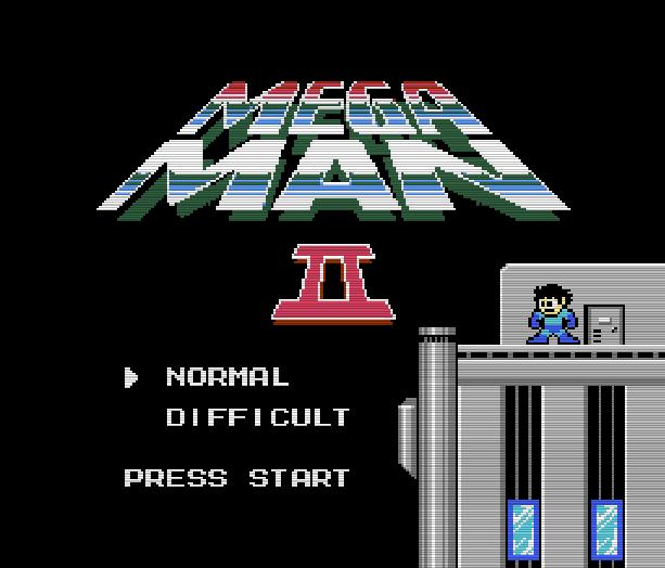 Mega Man 2 Nintendo Entertainment System NES Famicom Capcom Xtreme Retro 1