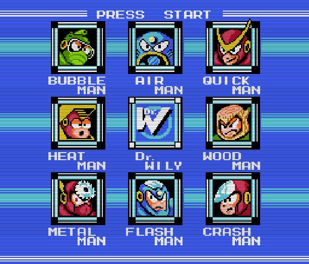 Mega Man 2 Nintendo Entertainment System NES Famicom Capcom Xtreme Retro 2