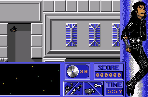 Michael Jacksons Moonwalker US Gold Spectrum Amstrad CPC Commodore 64 C64 MSX PC Amiga Atari ST Xtreme Retro 1