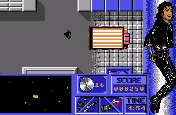 Michael Jacksons Moonwalker US Gold Spectrum Amstrad CPC Commodore 64 C64 MSX PC Amiga Atari ST Xtreme Retro 2