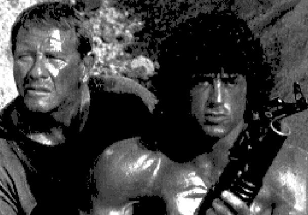 Rambo III Arcade Coin Op Taito Shooter Xtreme Retro Pixel Art 2