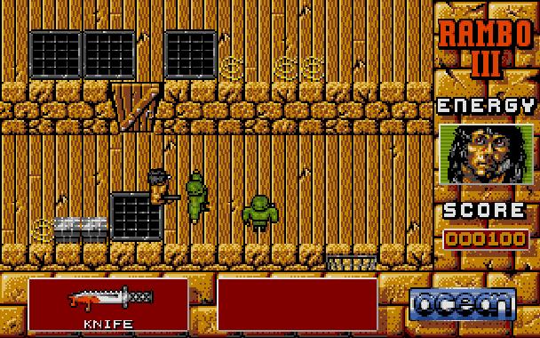 Rambo III Ocean Atari ST Xtreme Retro 2